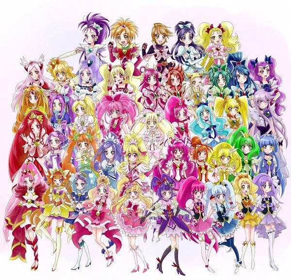 Tags: Anime, Pixiv Id 2744264, Futari wa Precure, Suite Precure♪, Smile Precure!, Futari wa Precure Splash Star, Go! Princess Precure, Mahou Tsukai Precure!, Yes! Precure 5, Dokidoki! Precure, Fresh Precure!, Heartcatch Precure!, HappinessCharge Precure!