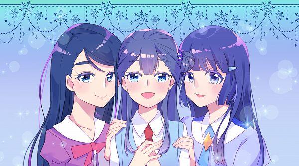 Tags: Anime, Pixiv Id 1007247, HUGtto! Precure, Smile Precure!, Yes! Precure 5, Precure All Stars, Yakushiji Saaya, Aoki Reika, Minazuki Karen, Fanart, Fanart From Pixiv, Twitter, Pixiv