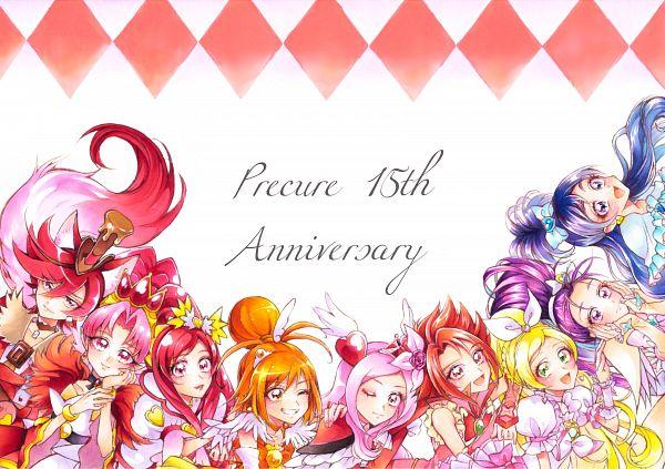 Tags: Anime, Pixiv Id 4996595, Dokidoki! Precure, Go! Princess Precure, Futari wa Precure Splash Star, Yes! Precure 5, Kirakira☆Precure a la Mode, Fresh Precure!, Suite Precure♪, Smile Precure!, Futari wa Precure, Precure All Stars, Mishou Mai