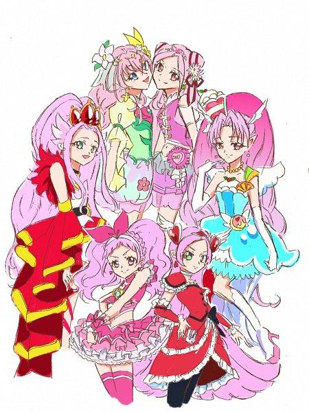 Tags: Anime, Fpminnie1, Fresh Precure!, Suite Precure♪, Mahou Tsukai Precure!, Kirakira☆Precure a la Mode, Go! Princess Precure, HUGtto! Precure, Precure All Stars, Cure Melody, Cure Felice, Kirahoshi Ciel, Cure Parfait