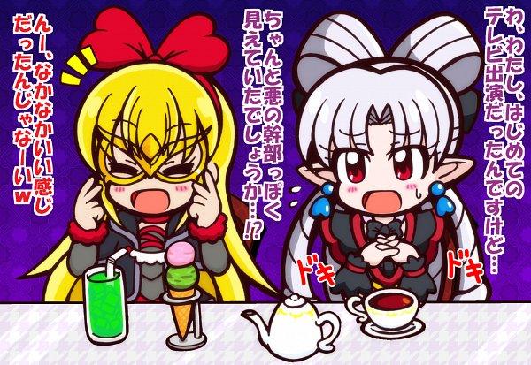Tags: Anime, Pixiv Id 2084190, Dokidoki! Precure, Go! Princess Precure, Precure All Stars, Regina (Dokidoki), Akagi Towa, Twilight (Pretty Cure), Fanart, Fanart From Pixiv, Pixiv
