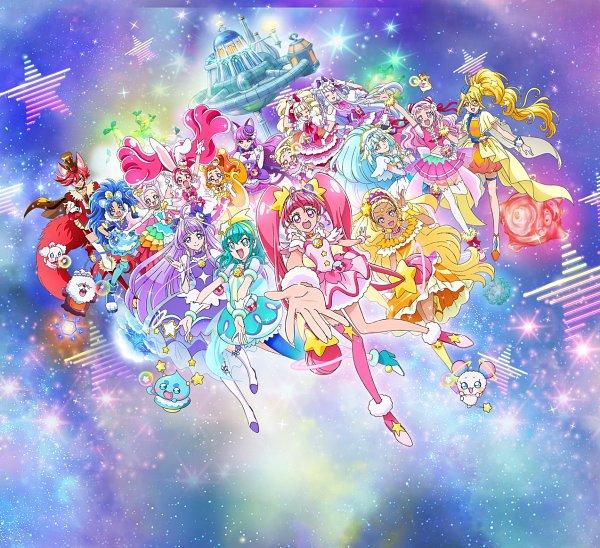 Tags: Anime, Matsuura Hitomi, Toei Animation, Kirakira☆Precure a la Mode, Star☆Twinkle Precure, HUGtto! Precure, Precure All Stars, Cure Macaron, Cure Étoile, Cure Soleil, Cure Parfait, Cure Amour, Cure Gelato