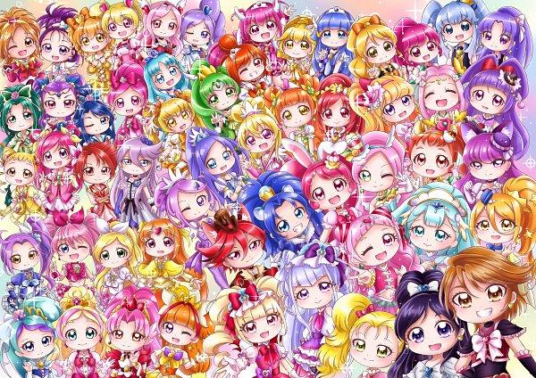 Tags: Anime, Pixiv Id 36799190, HUGtto! Precure, Yes! Precure 5, Dokidoki! Precure, Smile Precure!, Go! Princess Precure, Mahou Tsukai Precure!, Fresh Precure!, Suite Precure♪, Futari wa Precure, HappinessCharge Precure!, Futari wa Precure Splash Star