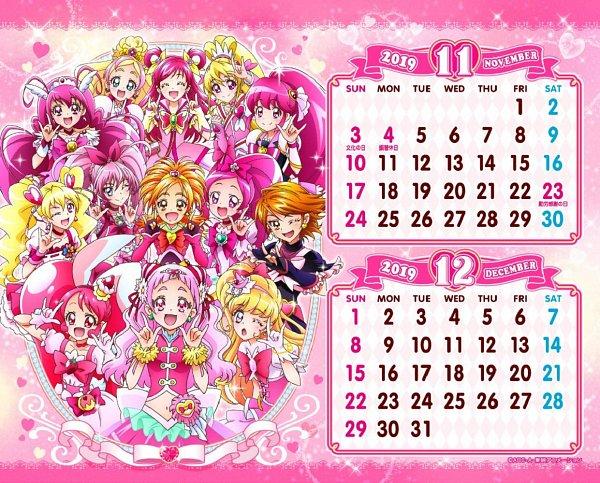 Tags: Anime, Toei Animation, Futari wa Precure, Kirakira☆Precure a la Mode, Futari wa Precure Splash Star, Go! Princess Precure, HUGtto! Precure, Suite Precure♪, Yes! Precure 5, Smile Precure!, Dokidoki! Precure, Mahou Tsukai Precure!, HappinessCharge Precure!