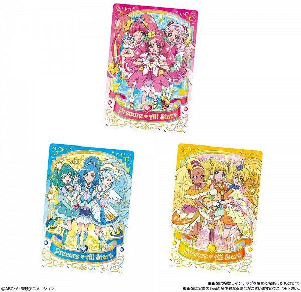 Tags: Anime, Star☆Twinkle Precure, Healin'Good♥Precure, HUGtto! Precure, Precure Miracle Leap: Minna to no Fushigi na 1 Nichi, Precure All Stars, Cure Star, Cure Fontaine, Yakushiji Saaya, Hagoromo Lala, Hanadera Nodoka, Nono Hana, Hoshina Hikaru