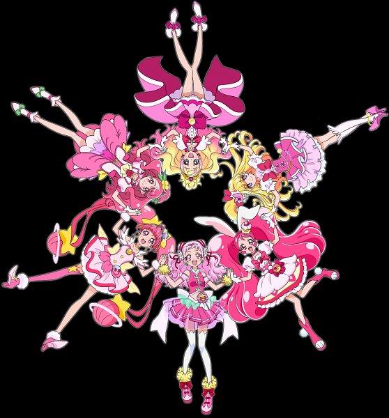 Tags: Anime, Toei Animation, Go! Princess Precure, HUGtto! Precure, Mahou Tsukai Precure!, Star☆Twinkle Precure, Kirakira☆Precure a la Mode, Healin'Good♥Precure, Precure All Stars, Asahina Mirai, Hoshina Hikaru, Cure Miracle, Cure Star