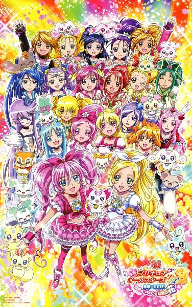 Tags: Anime, Futari wa Precure, Heartcatch Precure!, Futari wa Precure Splash Star, Yes! Precure 5, Suite Precure♪, Fresh Precure!, Precure All Stars, Precure Pia, Cure Blossom, Minazuki Karen, Minamino Kanade, Cure Aqua