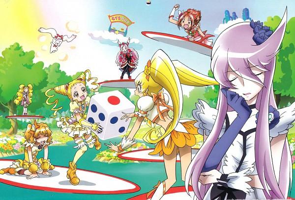 Tags: Anime, Toei Animation, Fresh Precure!, Futari wa Precure, Heartcatch Precure!, Yes! Precure 5, Precure All Stars, Cure Moonlight, Natsuki Rin, Cure Pine, Tsukikage Yuri, Kujo Hikari, Cure Lemonade