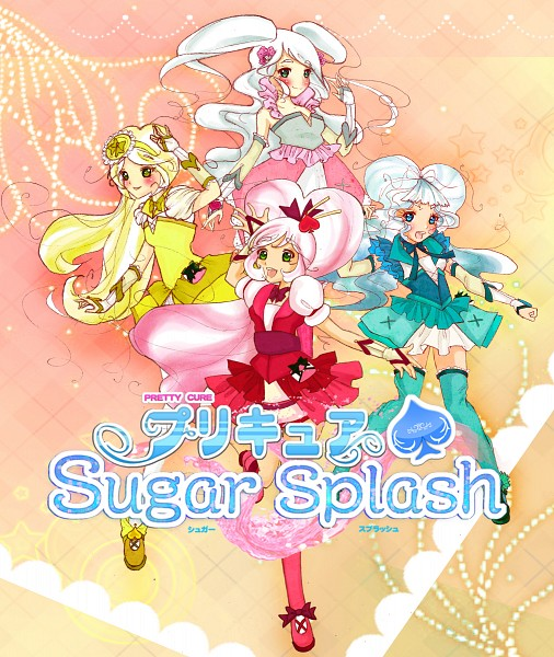 Pretty Cure Sugar Splash - Pretty Cure Fan Series