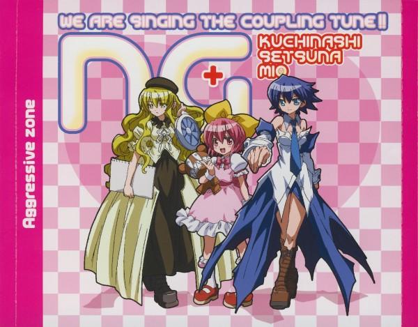 Tags: Anime, NEEDLESS, Kuchinashi, Mio (Needless), Setsuna (Needless), Artist Request, Official Art, CD (Source), Pretty Girl Squad