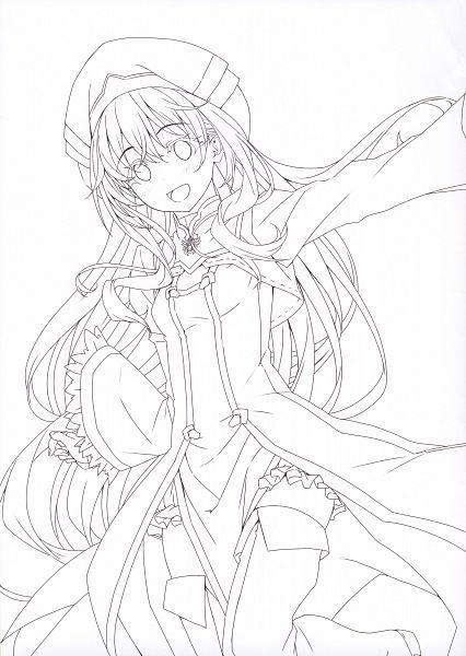 Tags: Anime, Kannatsuki Noboru, Goblin Slayer, Gob-Sla, Priestess (Goblin Slayer), Scan, Comic Market, Official Art, Comic Market 94