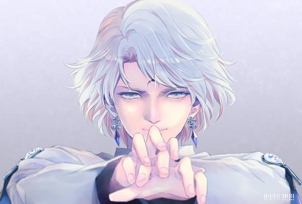 Tags: Anime, Saki Kunkatan, Bishoujo Senshi Sailor Moon, Prince Diamond, Diamond (Gem), Barcode, Fanart, Revision, Pixiv, Fanart From Pixiv