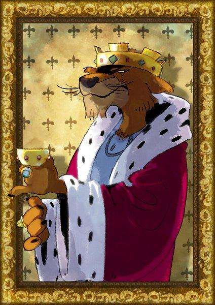 Tags: Anime, Alex Guillot, Robin Hood (Disney), Prince John, Disney, Fanart, ArtStation, John Prince