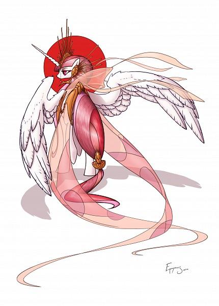 Tags: Anime, Jackjacko-eponymous, My Little Pony, Princess Celestia, Alicorn, deviantART, Fanart, Fanart From DeviantART