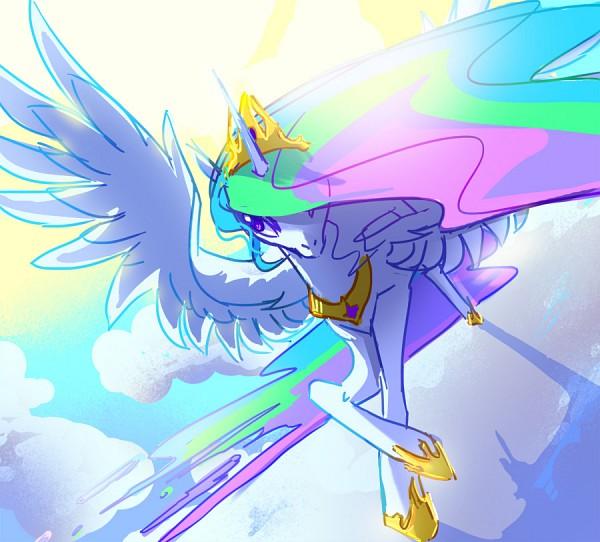 Tags: Anime, Rachel J. Corey, My Little Pony, Princess Celestia, Alicorn, Fanart