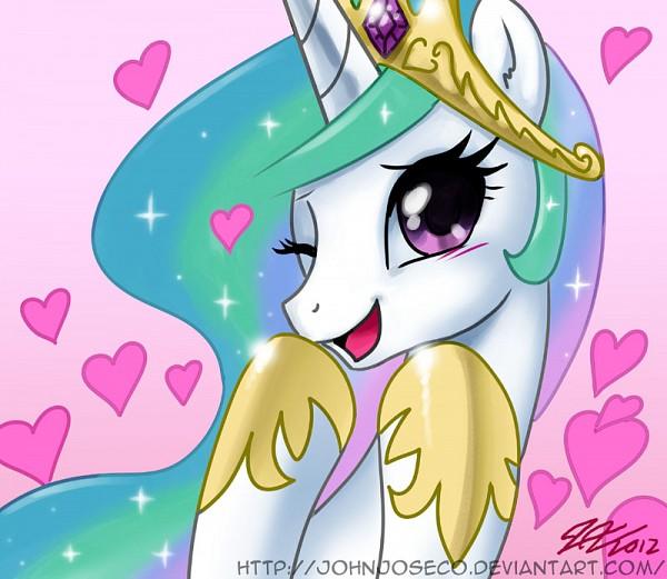 Tags: Anime, John Joseco, My Little Pony, Princess Celestia, Alicorn, Fanart From DeviantART, Fanart, deviantART