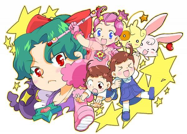 Tags: Anime, Pixiv Id 2754, Princess Comet, Meteor (Princess Comet), Fujiyoshi Nene, Comet (Princess Comet), Rababou, Mook, Fujiyoshi Tsuyoshi, Rabapyon, Fanart, Fanart From Pixiv, Pixiv