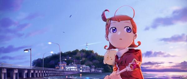 Tags: Anime, Pixiv Id 84020, Princess Comet, Rababou, Comet (Princess Comet), Lighthouse, Fanart, Fanart From Pixiv, Pixiv