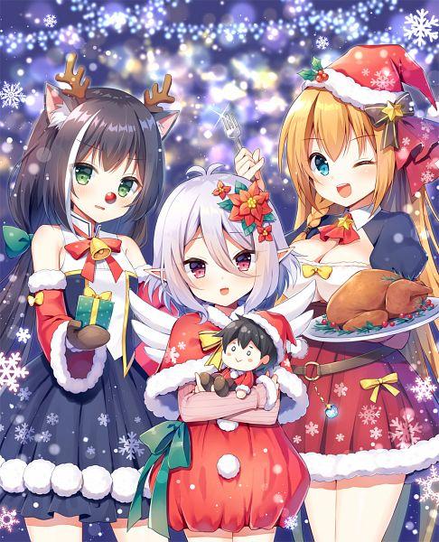 Tags: Anime, Mauve, Princess Connect, Princess Connect! Re:Dive, Yuuki (Princess Connect), Kiruya Momochi, Kyaru, Natsume Kokoro (Princess Connect), Pecorine (Princess Connect), Eustiana von Astraea, Kokkoro (Princess Connect)