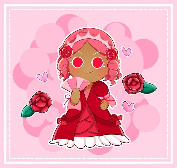 Princess Cookie (Red Rose Gown) - Princess Cookie