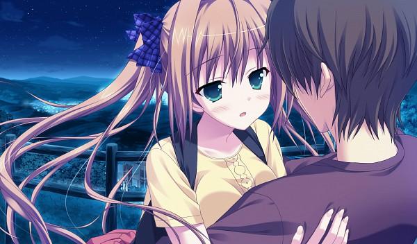 Tags: Anime, Saeki Nao, Moonstone, Princess Evangile, Sagisawa Chiho, Wallpaper, CG Art