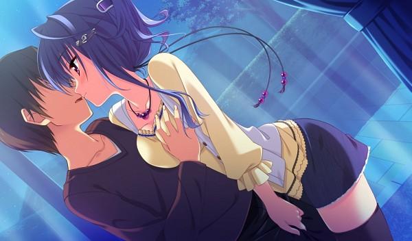 Tags: Anime, Moonstone, Princess Evangile, Kitamikado Ayaka, Groping, CG Art
