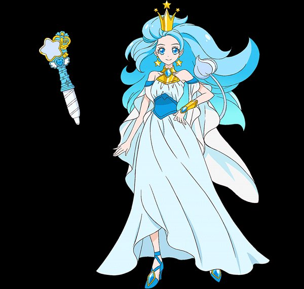 Tags: Anime, Star☆Twinkle Precure, Princess Leo, Lion Tail, Official Art
