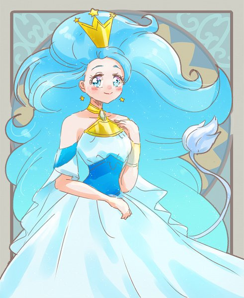 Tags: Anime, Sushino Hebana, Star☆Twinkle Precure, Princess Leo, Zodiac (Personification), Lion Tail, Pixiv, Twitter, Fanart, Fanart From Pixiv
