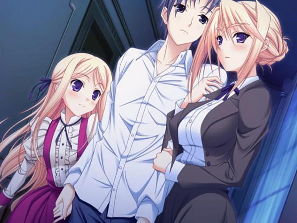 Tags: Anime, Princess Lover!, Arima Teppei, Sylvia van Hossen, Maria van Hossen, CG Art
