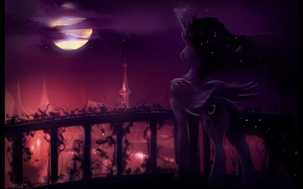 Tags: Anime, Noben, My Little Pony, Princess Luna, Pony, Alicorn, Fanart, deviantART, Fanart From DeviantART