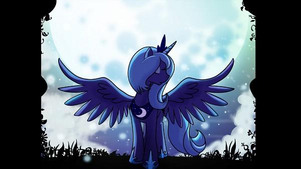 Tags: Anime, Csimadmax, My Little Pony, Princess Luna, Downscale, Alicorn, deviantART, Fanart From DeviantART, Fanart