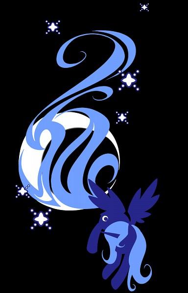 Tags: Anime, Bamboodog, My Little Pony, Princess Luna, Alicorn, Cutie Mark, Fanart From DeviantART, deviantART, Fanart