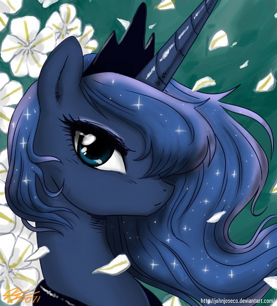 Tags: Anime, John Joseco, My Little Pony, Princess Luna, Alicorn, Fanart, deviantART, Fanart From DeviantART
