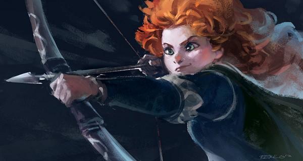 Tags: Anime, Benlo, Brave (Disney), Princess Mérida, Pixar, Facebook Cover, Artist Request, Disney