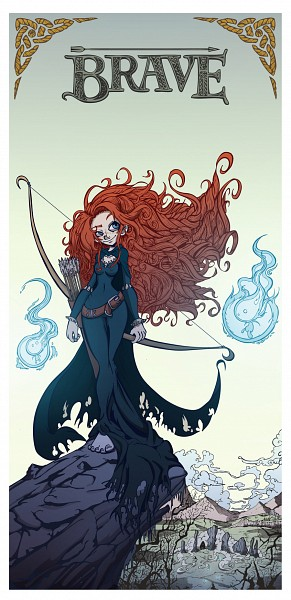 Tags: Anime, Brave (Disney), Princess Mérida, Disney, Pixar, Artist Request
