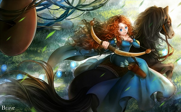 Tags: Anime, Pixiv Id 2794717, Brave (Disney), Princess Mérida, Pixar, Disney, Pixiv, Fanart