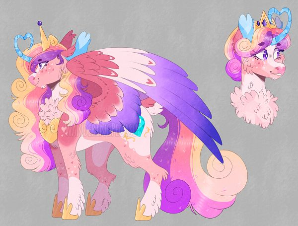 Tags: Anime, WanderingPegasus, My Little Pony, Princess Mi Amore Cadance, Alicorn, Pony, deviantART, Fanart, Fanart From DeviantART