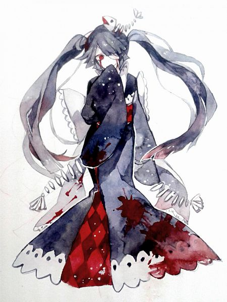 Tags: Anime, Oounabara to Wadanohara, Princess Mikotsu, Tumblr, Fanart, Fanart From Tumblr
