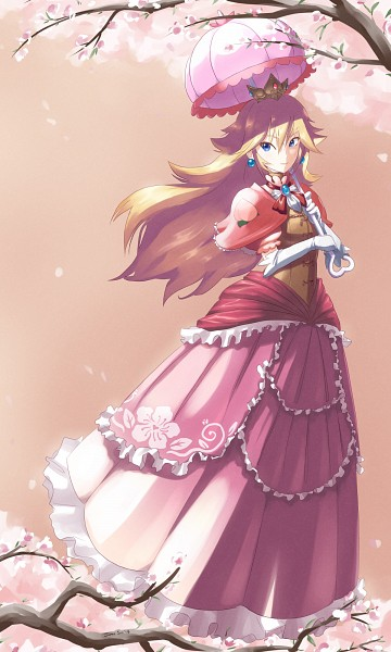 Princess Peach - Super Mario Bros.