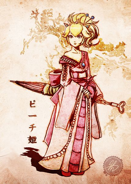 Princess Peach - Super Mario Bros.