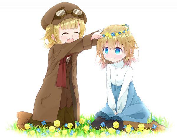 Tags: Anime, Pixiv Id 10445534, Princess Principal, Princess (Princess Principal), Ange (Princess Principal)
