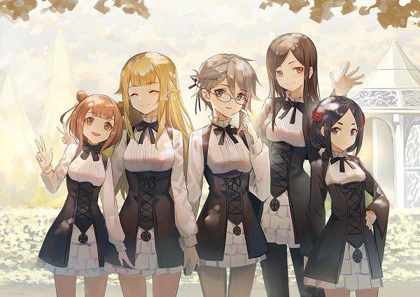Tags: Anime, Huanxiang Heitu, Princess Principal, Princess (Princess Principal), Dorothy (Princess Principal), Ange (Princess Principal), Beatrice (Princess Principal), Toudou Chise