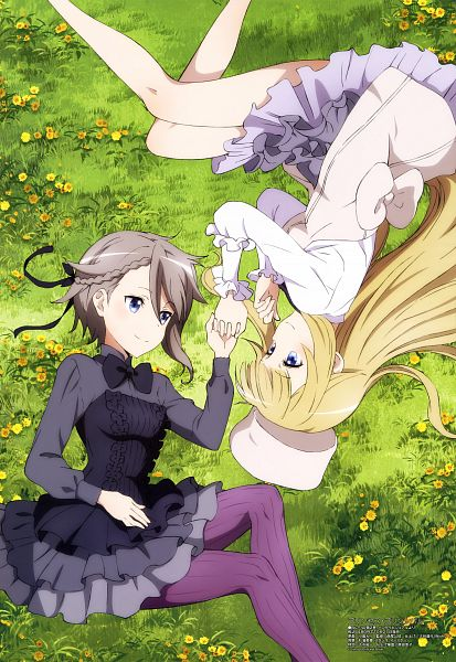 Tags: Anime, Studio 3Hz, Actas, Princess Principal, Princess (Princess Principal), Ange (Princess Principal), Official Art, Scan