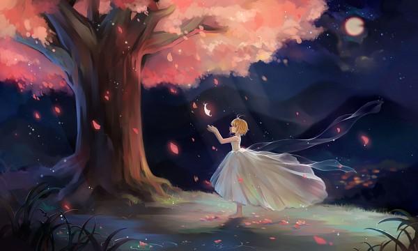 Tags: Anime, Duximeng, Tsubasa: RESERVoir CHRoNiCLE, Princess Sakura, Fanart From Pixiv, Pixiv, Wallpaper, Fanart