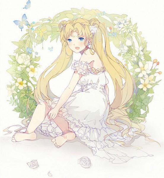 Tags: Anime, xiaohan6th, Bishoujo Senshi Sailor Moon, Princess Serenity, Tsukino Usagi, Fanart From Pixiv, Fanart, Pixiv