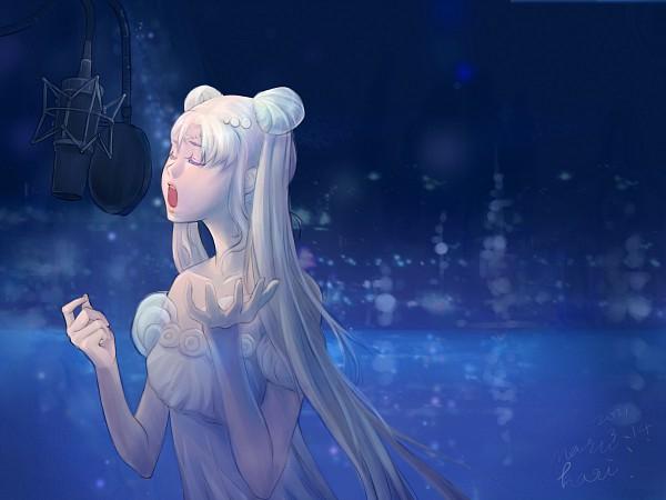 Tags: Anime, Pixiv Id 2301636, Toei Animation, Bishoujo Senshi Sailor Moon, Princess Serenity, Tsukino Usagi, Pixiv, Fanart From Pixiv, Pray For Japan, Fanart