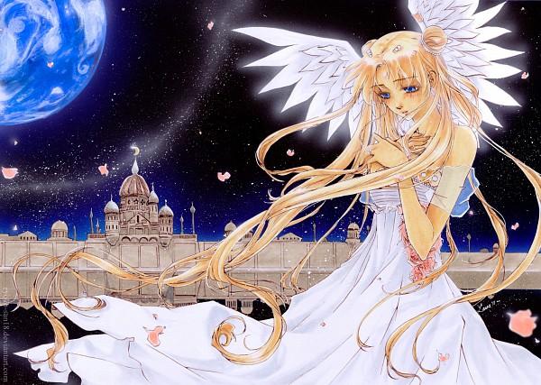 Tags: Anime, Laura (Ryoko-san18), Bishoujo Senshi Sailor Moon, Princess Serenity, Tsukino Usagi, Silver Millenium, Traditional Media, deviantART