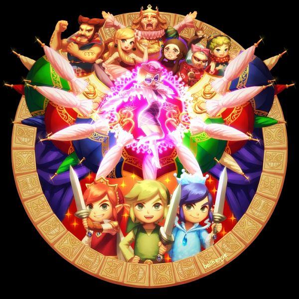 Princess Styla - Zelda no Densetsu: Triforce Sanjuushi