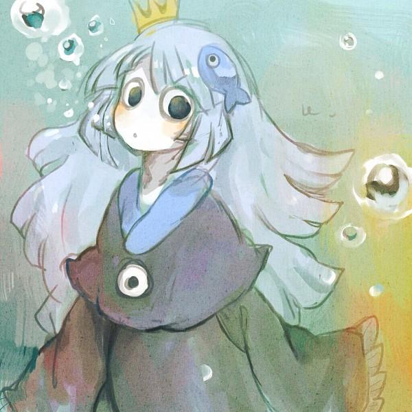 Tags: Anime, Bright-flowers, Oounabara to Wadanohara, Princess Uomi, Tumblr