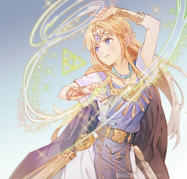 Tags: Anime, Chima Tsuitta, Zelda no Densetsu: Kamigami no Triforce 2, Zelda no Densetsu, Zelda (Kamigami no Triforce 2), Princess Zelda, Triforce, Twitter
